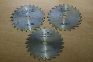 Lot de 3 lames Bois de scie circulaire KRESS MULTY LECTRIC 148mm 24 dents - 16mm
