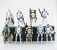 "6"" Black Series Star Wars PVC Action Figure Clone Trooper Boba Fett Stormtrooper"