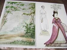 Vtg Paper Dolls Toy 1988 Emma 10 Gowns artist John Darcy Noble Convention Rare!