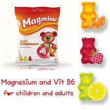 Magmisie jelly Gummy bear with magnesium and Vitamin B6 30 pcs for children 3+