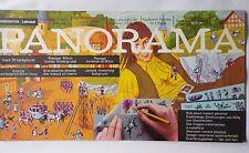 """Letraset Waddington Panorama trasferimenti d'azione """"Gullivers viaggi'S usato-vintage"""