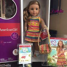 American Girl Doll LEA CLARK with Pierced Ears Bonus Earrings DOLL OF THE YEAR