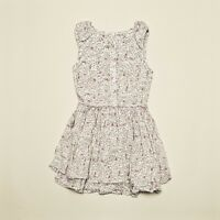 New IKKS SUMMER floral girl couture dress ruffles 4, 5, 6, 8, 10y  style X531192