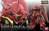 BANDAI RG 1/144 MSN-06S SINANJU Plastic Model Kit Gundam UC NEW from Japan