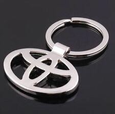 Auto Car Keyring Titanium Key Chain Car Keychain Ring Metal Keyrings For Toyota