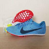 Nike Zoom Victory Elite 2 Track Running Spikes Blue Orange White SZ (835998-446)
