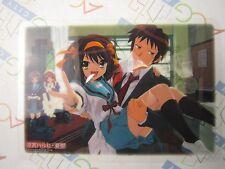Melancholy of Haruhi Suzumiya Jumbo Carddas Plate Collection Card P Bandai USED
