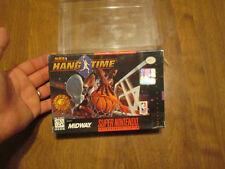 NBA HangTime (Super Nintendo Entertainment System, 1996) NEW FACTORY SEALED RARE