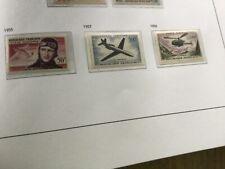 Lots 3 timbres FRANCE Poste aérienne 1955-1957-1958, neufs, sans charnière