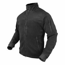 - CLEARANCE - Condor Tactical Alpha Fleece Jacket - Black - Large - OPEN BOX