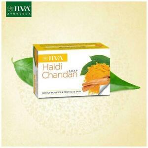 Jiva Haldi Chandan Soap (Set of 5)