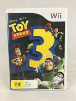 Toy Story 3 - With Manual - Disney / Pixar - Nintendo Wii / Wii U - PAL