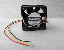 Sanyo Denki 60mm x 25mm Fan 24V DC 3 Wire Bare Leads 109R0624G4J01 Made in Japan