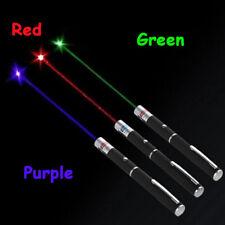 1mw 3PCS Laser pointer Pen Red + Green + Blue/violet Laser Pointer Visible Beam