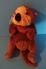 Plush Little Brown & Tan Sea Otter by Ganz