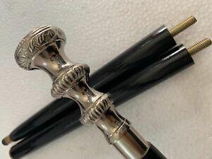 Nautical Solid Brass Handmade Designer Knob Handle Vintage walking stick canes