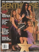 PENTHOUSE MAGAZINE APRIL 1997 HEATHER KELLY HOWARD STERN SHAWN KEMP ORAL SEX