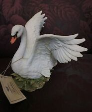 White Swan Figurine Homco Masterpiece Collection Home Interiors