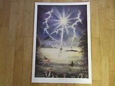 Peter Pracownik Rare 1990's Poster - Excalibur. Fantasy Art