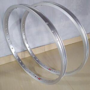 Araya Rims Hoops 7X 24x1.75 Hoops Alloy Silver 36h  Pair
