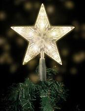 LED Weihnachtsbaum Spitze - 18 x 22 cm - Christbaumspitze beleuchtet Baumschmuck