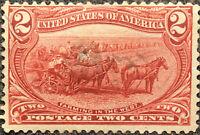Scott #286 US 1898 2 Cent Trans Mississippi Exposition Stamp