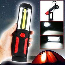 COB LED WorkLight Inspection Lamp Garage Magnetic Flashlight Torch Hand Tool