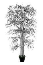 Bambus Silber 1,60 m Kunstbambus Kunstbaum Kunstpflanze künstlicher Bambus Deko