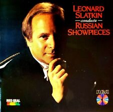 """Leonard Slatkin"" - ""Conducts ""Russian Showpieces"" - ( CD - Red Seal / Japan )"