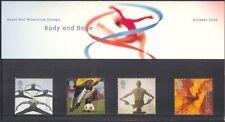 GB 2000 Millennium/Football/Dance/Sport/Games/Swimming/Egg 4v Pres Pack (n43202)