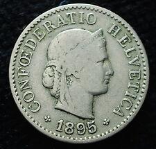 1895  Svizzera Switzerland  5  Rappen