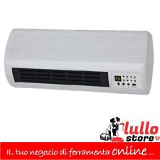 Termoventilatore a Parete Stufa Elettrica 2000W Timer Teporus KPT 2000B-4501L