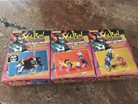 Vintage Matchbox Voltron III 3 1984 golion! Might Lion Robots set!