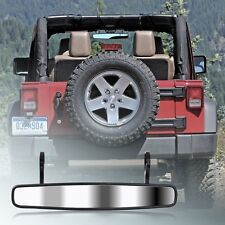 1 Pcs 15'' Wide Rear View ATV UTV Mirror For Units Polaris RZR John Deere Gator