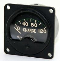 Smiths charge temperature gauge for RAF Mosquito etc (GA8)
