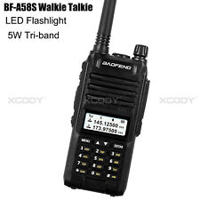 Walkie Talkie Baofeng A58S UHF VHF 5W 128CH CTCSS 10km VOX Portable High Power