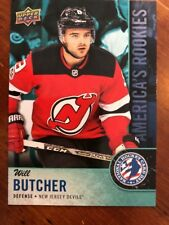 2018 UD National Hockey Card Day America's Rookie #USA-5 Will Butcher