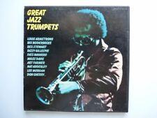 Coffret Disque Vinyle 33T Great Jazz Trumpets 58020 (11330)