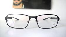 43dad7019ae Freudenhaus Titanium 55-16 Medium Small Brown Elon Eyeglass Frames mens  Glasses