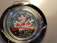 Canada Pride 25 Cent Coloured Coin Only 50,000 Minted, A Rare Beauty To Own.