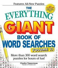 The Everything Giant Book of Word Searches, Volume 11: More Than 300 Word Search