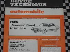 revue technique FORD GRANADA DIESEL 2.5 & 2.1 / E.O 1984 / français
