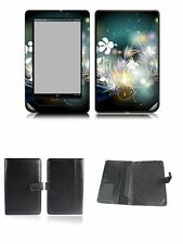 Happybird Nook Tablet Nook Color Case Cover with skin combo-black set6(043)