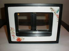 LENOX CHIRP 2 SIDED 4X6 & 2 WALLET PICTURE PHOTO FRAME