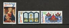 New Zealand 1975 Christmas unmounted mint set of stamps