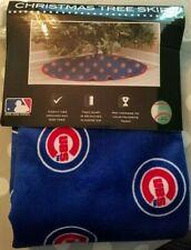 CHICAGO CUBS BLUE CHRISTMAS TREE SKIRT BRAND NEW Baseball collectible