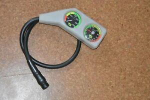 2er-Konsole Tiefenmesser (bis 80m) + Fini (Anzeige bis 300 bar) von Seac Sub