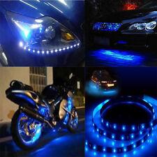 5x 12V 30cm Car Motor Vehicle Flexible Waterproof Strip Blue Light 15 LED Light