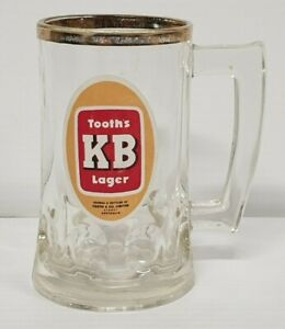 Vintage Tooth's KB Lager Glass