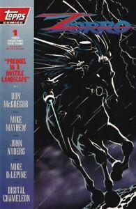 Zorro #1, Topps Comics, January 1994 - $2.50 - Frank Miller cover, Mike Mayhew